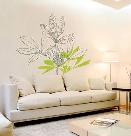 多姿多彩手绘墙 创意无限