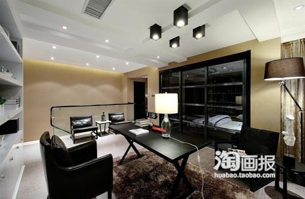 黑白 黑色/纯黑奇幻灯具黑色范硬复式家