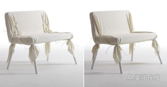 wrinkle双人椅