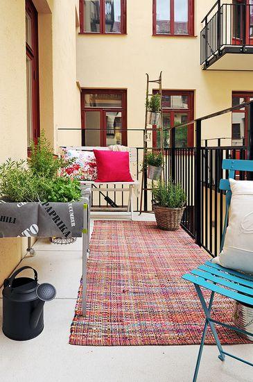欧式阳台庭院木地板搭配方案(2)