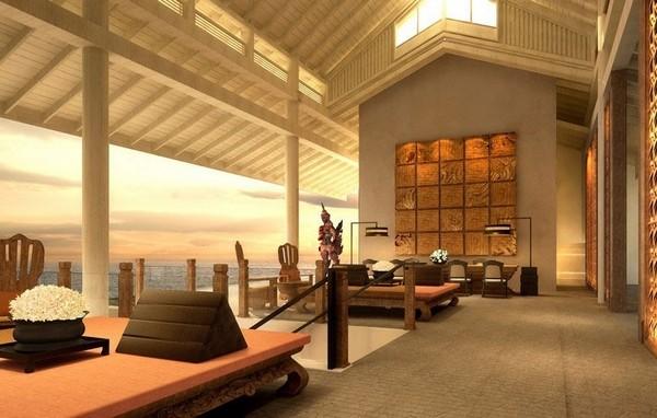 传奇天堂 苏梅岛班达灵岩洲际酒店