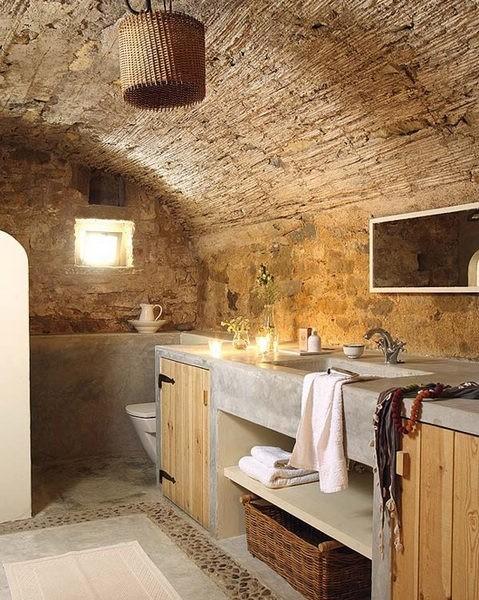 述说现代经典石头记 原石浴室(1)