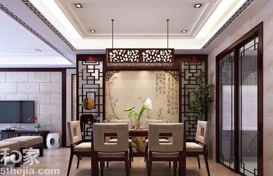 团聚正当时新中式餐厅装修