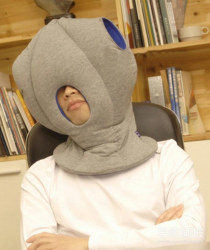 火拼创意 新款鸵鸟枕想睡就睡
