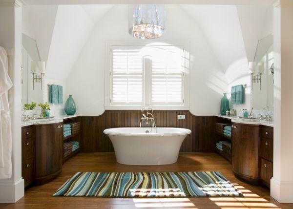 婴儿澡堂设计图-儿童浴室设计为家创造绿洲 2