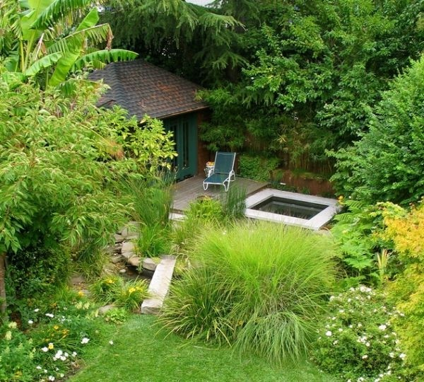 禅的自然 日式庭院设计(1)图片