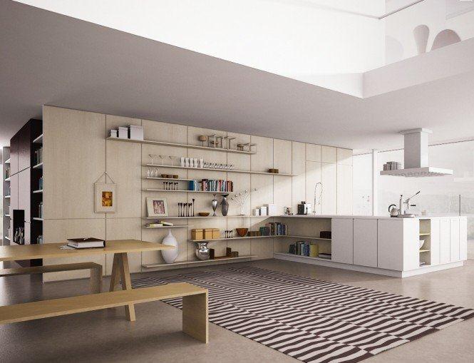 国外开放式厨房设计欣赏