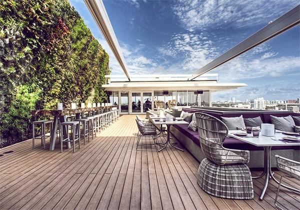 奢华体验 迈阿密juvia楼顶餐厅
