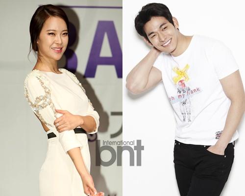 郑锡元 白智英/韩国歌手白智英(37)与演员郑锡元(28)确定将于6月结婚。