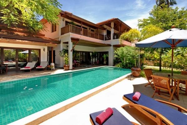 泰国苏梅岛奢华v别墅别墅BaanJasmine别墅狗图片