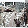 登喜鸟家纺布拉格之恋(红灰)产品图片展示