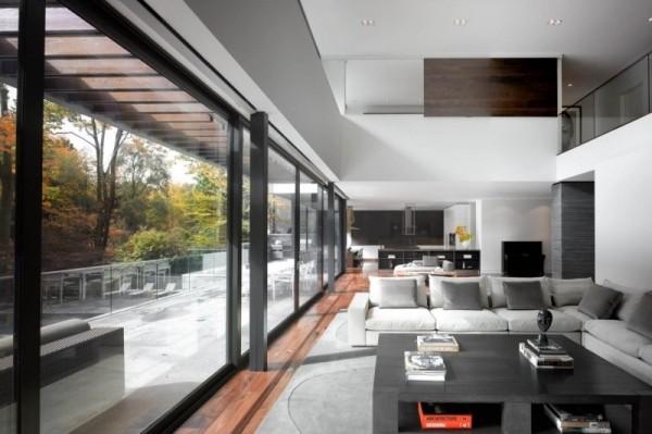 线条分明的多伦多顶级豪宅设计