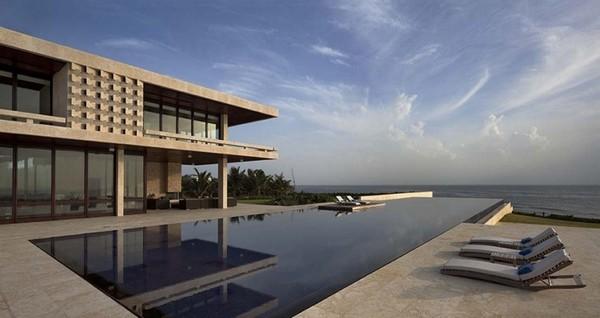 加勒比海边的casa kimball度假别墅