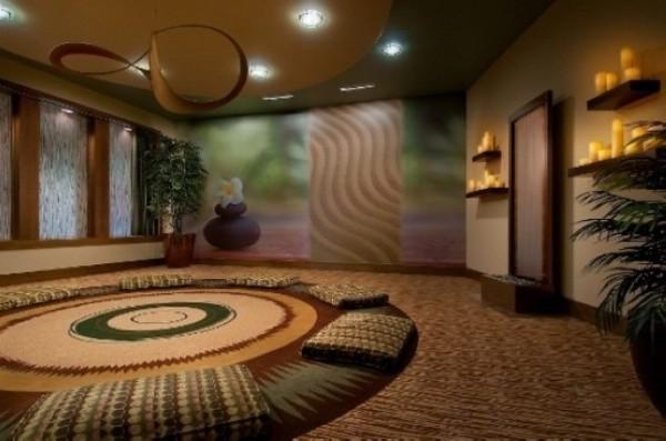 最爱瑜伽 家居瑜伽房设计(1)图片