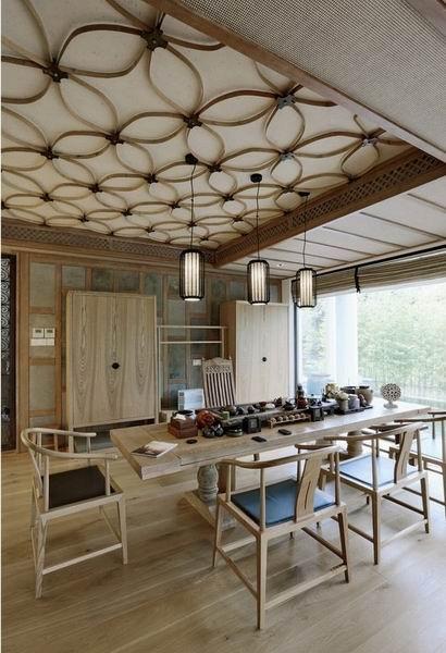 清新木质中式住宅