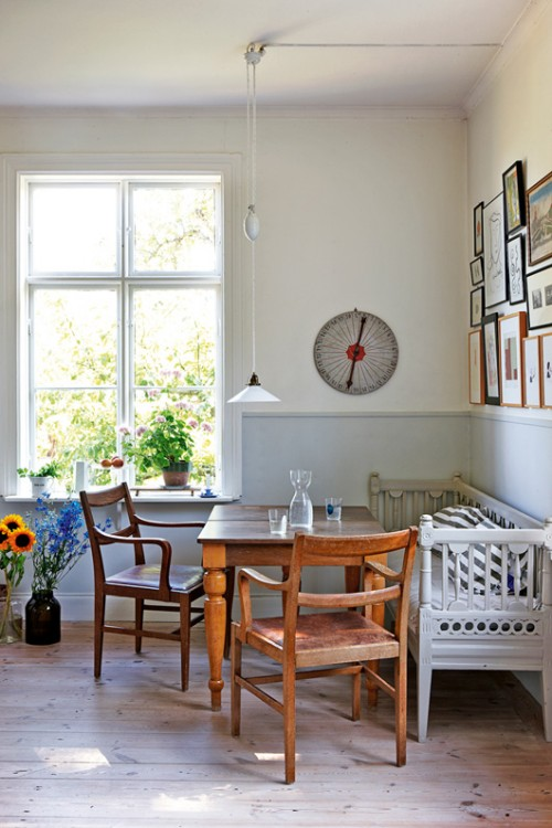 瑞典设计师的温馨老房子