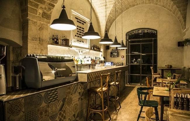 意大利复古文艺的餐厅