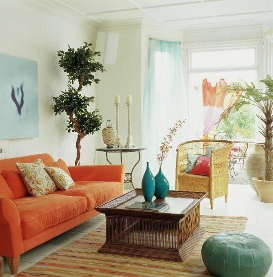波西米亚风格客厅装修效果图(1)