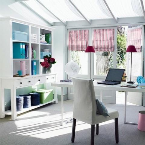 家庭特色书房装修效果图(1)