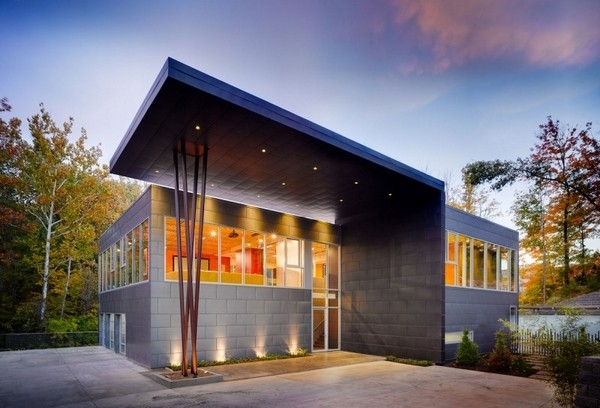 科幻色彩与禅宗意境 美国社区住宅设计
