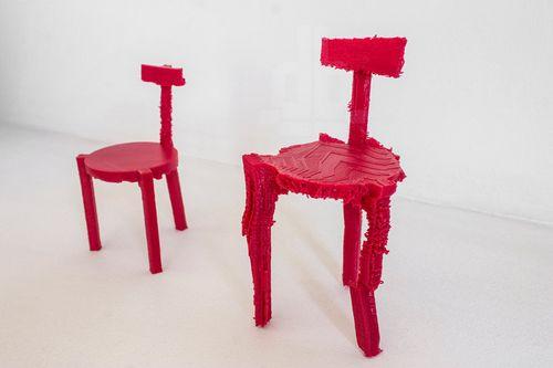 创意长颈鹿椅子图片