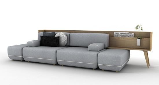 多功能于一体的沙发设计