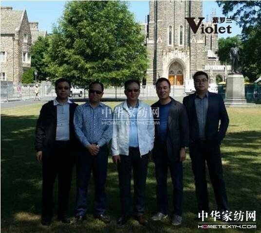 杨兆华携紫罗兰董事长陈永兵考察美国市场