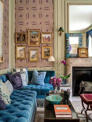 家纺设计:柔美热烈 重现经典
