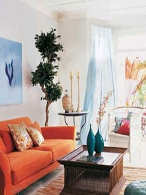 巧用地毯、垫子、窗帘,让家变暖很简单