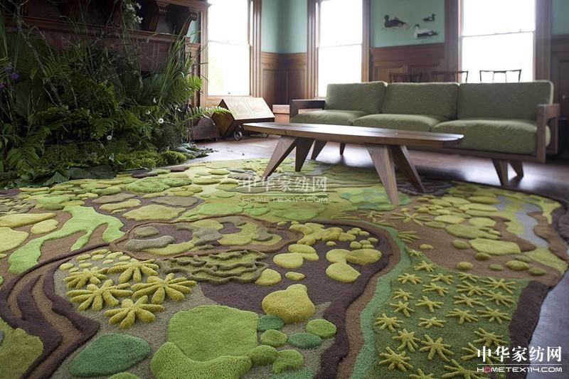 森林地毯让你的客厅充满生机