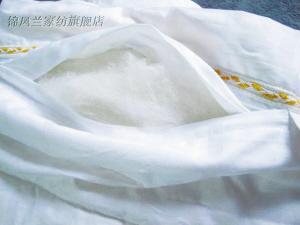 不少蚕丝被产品被检出填充聚酯纤维