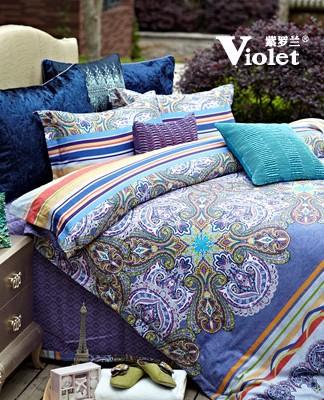 紫罗兰家纺丨幸福有可能会迟到,但一定不会缺席!
