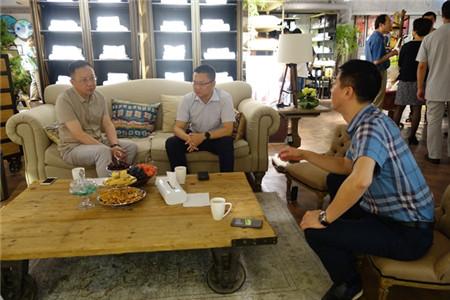 中国家纺协会赴梦洁家纺考察