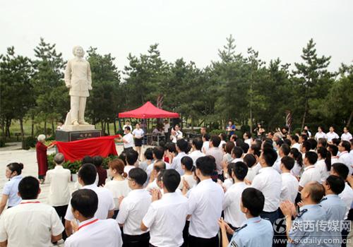 赵梦桃公园开园系全国首个以纺织工人名字命名公园