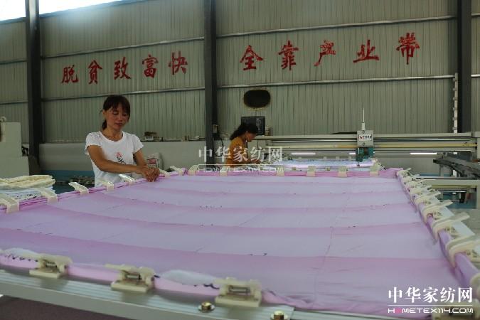 山东省阳信县:脱贫致富快全靠产业带