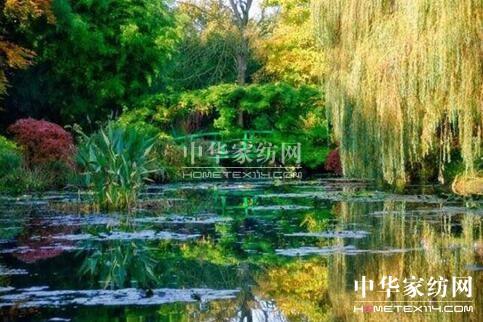 博洋家纺绚彩系列之莫奈花园
