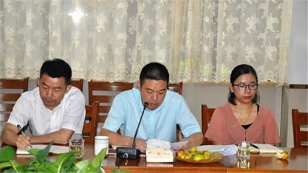 海宁市家纺协会、许村商会副会长(理事以上)扩大会议召开