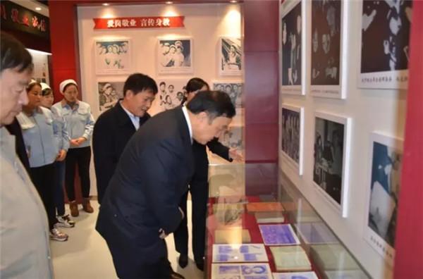 """弘扬劳模精神,赵梦桃纪念馆被中纺联授予""""爱国主义教育基地"""""""