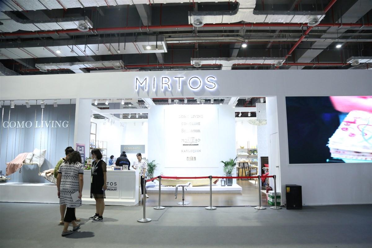 Mirtos・Loftine莫特斯家居 打造一体化艺术时尚家纺空间新领域