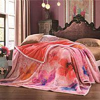 尚玛可家纺SQ131流光凡尔赛双层拉舍尔毯产品图片展示