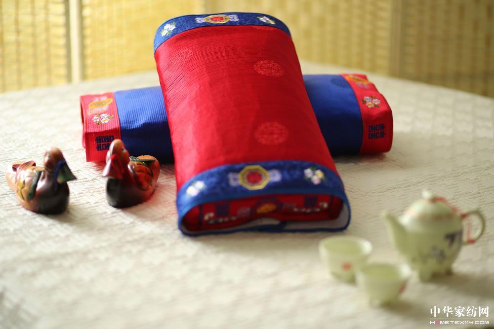 洋缎两面枕 (3)