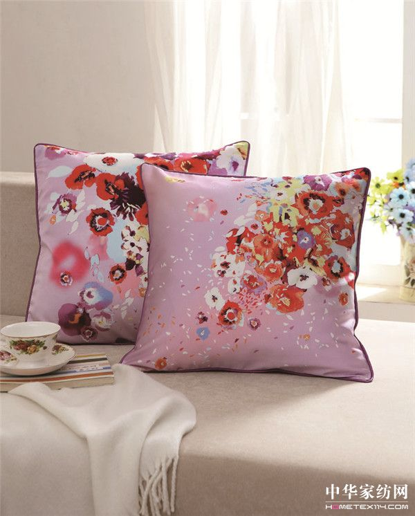 仲夏紫韵靠垫