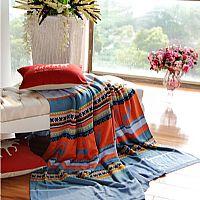 凯盛家纺丽贝卡针织毯-产品图片展示