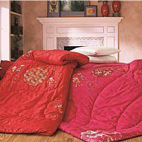伊人岛家纺百子玫瑰喜被产品图片展示