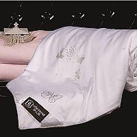 伊人岛家纺贵族型全棉蚕丝被产品图片展示