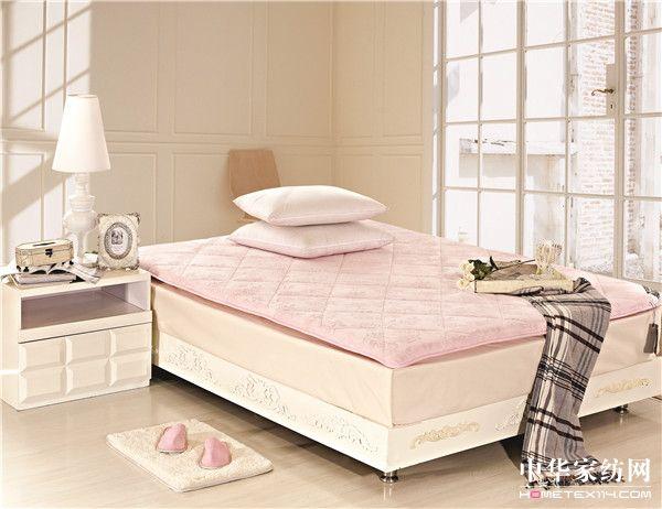 玫瑰绒床垫