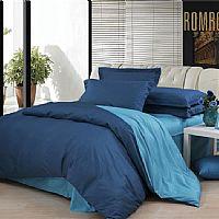罗曼罗兰家纺深蓝配浅蓝产品图片展示
