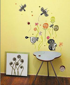 壁纸 舞在墙上的风景