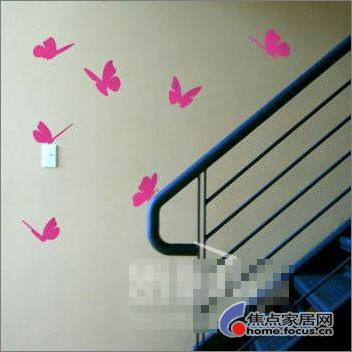 墙面手绘让家惊艳无比(十零) - 时尚家居 - 中华家纺网