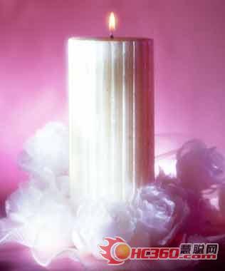 鹅卵石蜡烛 精美别致工艺品